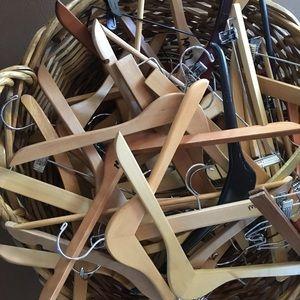 Other - Wood hangers , 20